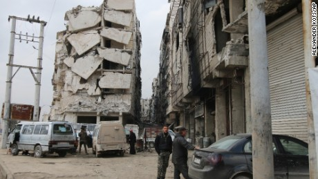 Russia: Talk of a plan B for Syria 'very unhelpful'