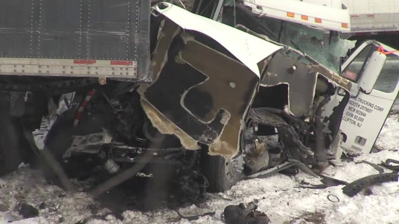 Deadly pileup on I-78 in Pennsylvania: 50 vehicles - CNN