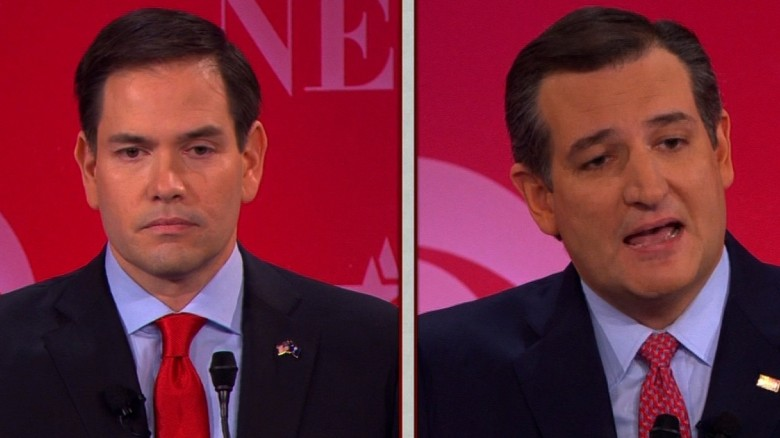 Marco Rubio accuses Ted Cruz of lying