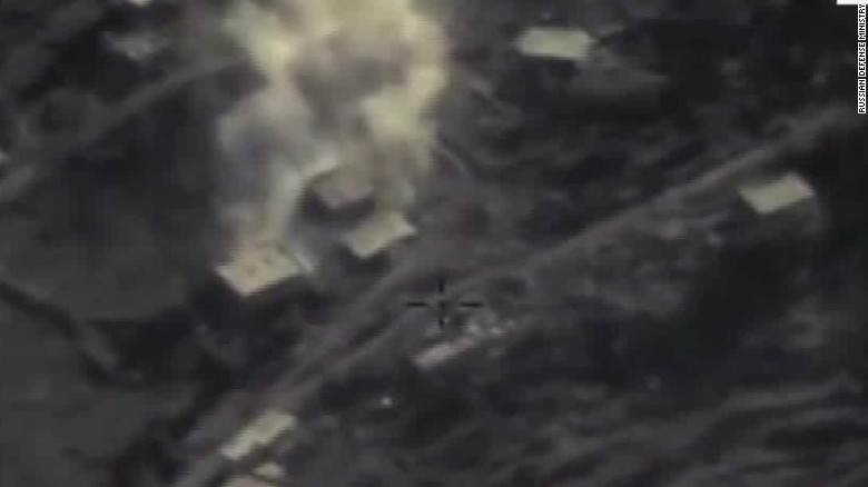 Tensions rise over Russia's air campaign in Syria