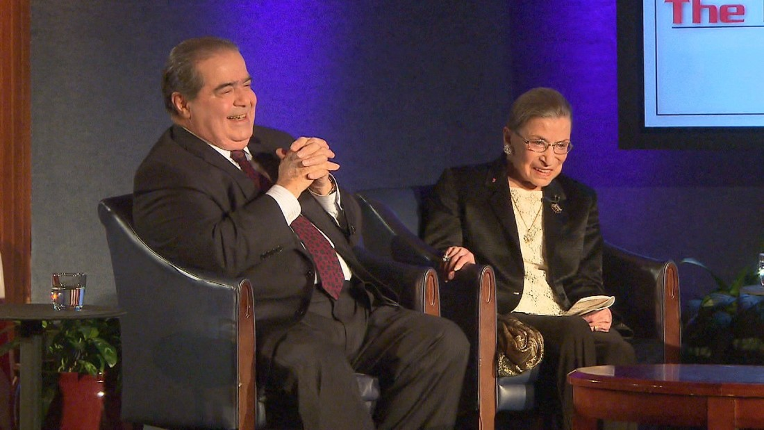 Scalia-Ginsburg friendship bridged opposing ideologies ...