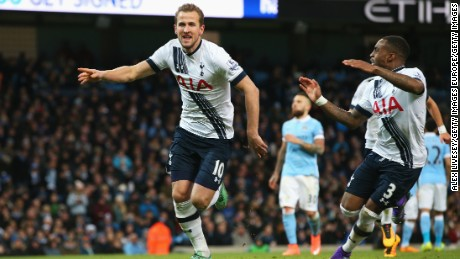 Harry Kane put Tottenham ahead from the spot after being awarded a controversial second half penalty.