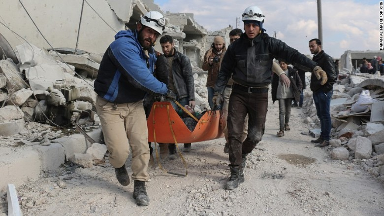 On the front lines in war-torn Aleppo