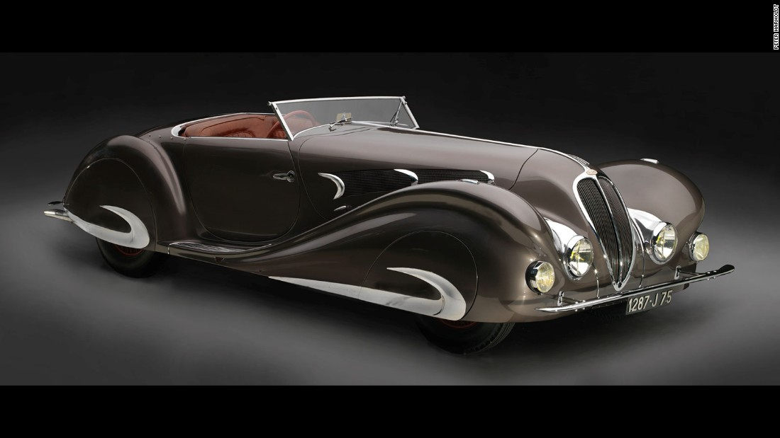This stylish vehicle features a leather interior and carpet by luxury French fashion brand, Hermès.
