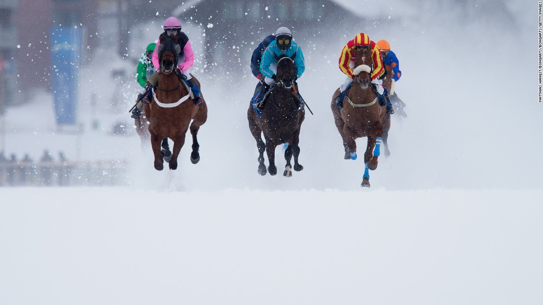 Traditionally taking place across three Sundays every February, this year's edition of the White Turf races got off to a sticky start, with the opening meeting on February 7 canceled because of a lack of snow in January. It was business as usual on February 14, however, with the event ending on February 21.