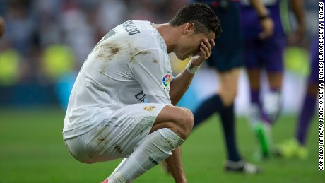 Champions League: What's wrong with Cristiano Ronaldo?