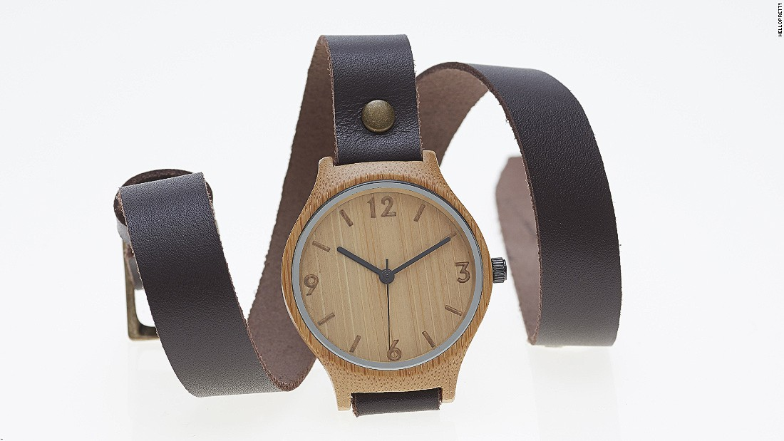 An online commerce site similar to Etsy, South African company Hello Pretty, said one of its most popular products is from  Bamboo Watch Revolutions. It's one of the first companies to develop a watch face made from bamboo.