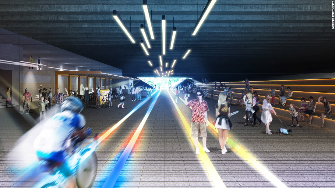 Queenstown Viaduct will be named Passage of Light, with interactive floor lighting that will reportedly respond to the speed of cyclists and pedestrians. It also has a firefly garden.