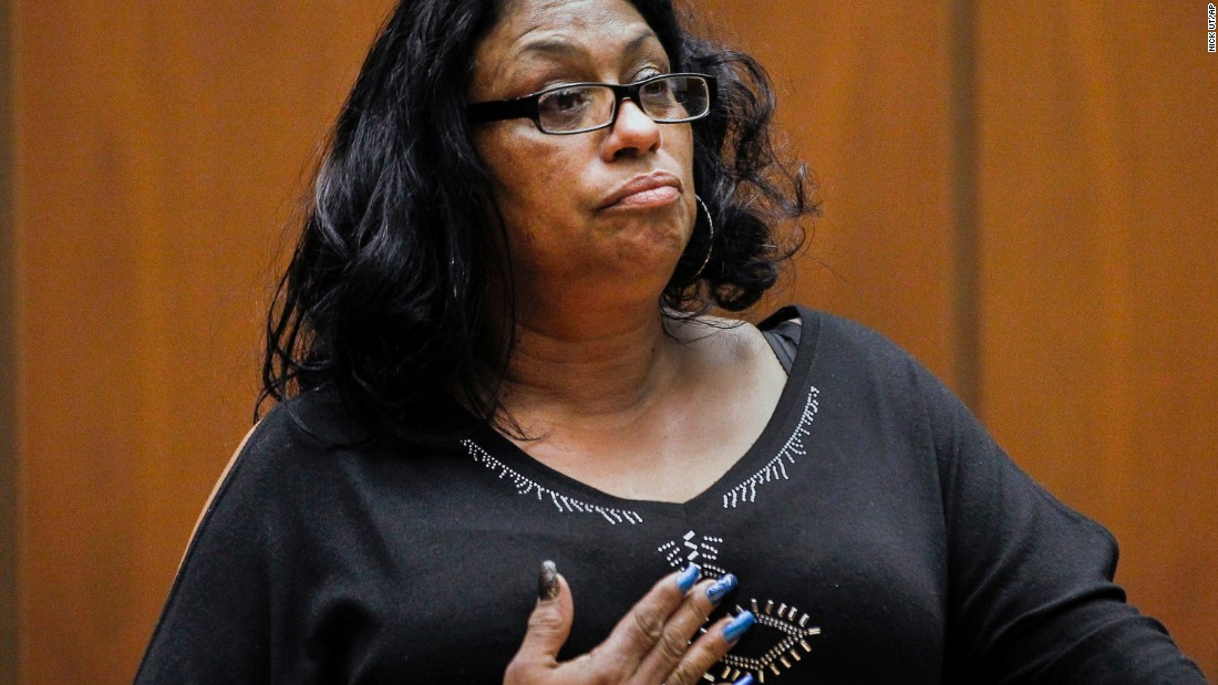 Enietra Washington is the only known survivor of the Grim Sleeper. She was raped and shot in November 1988 before she managed to escape. Washington is expected to be the star witness in the trial of the accused killer, Lonnie David Franklin Jr. Franklin is charged with attempted murder in Washington's attack.