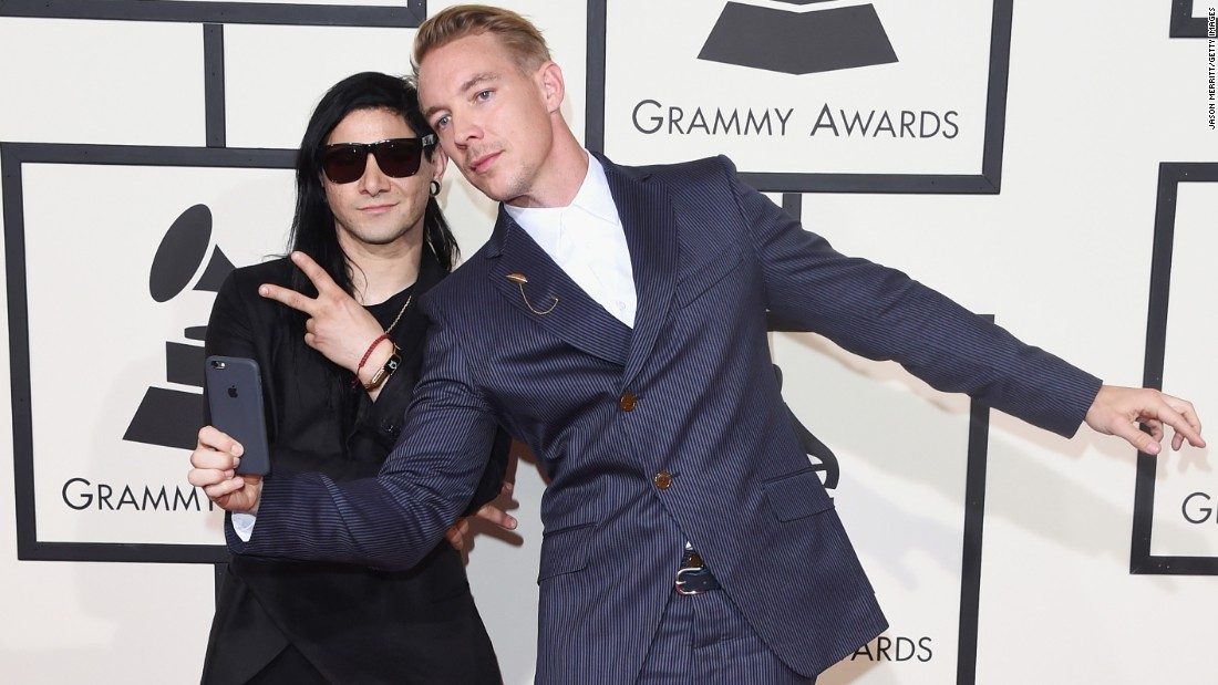 Skrillex, left, and Diplo