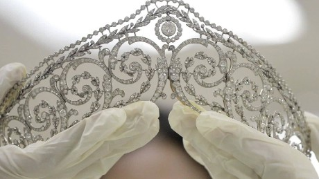 A multi-million dollar jewelry collection that once belonged to Imelda Marcos is up for auction.