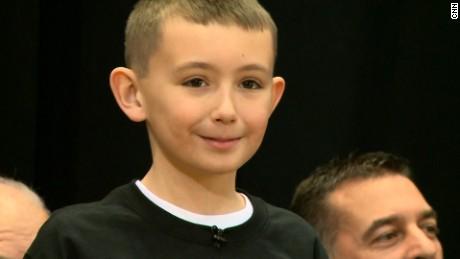 Boy's birthday bake sale raises money for police