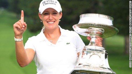 Kerr won her second major at the 2010 LPGA Championship at Locust Hill, New York.