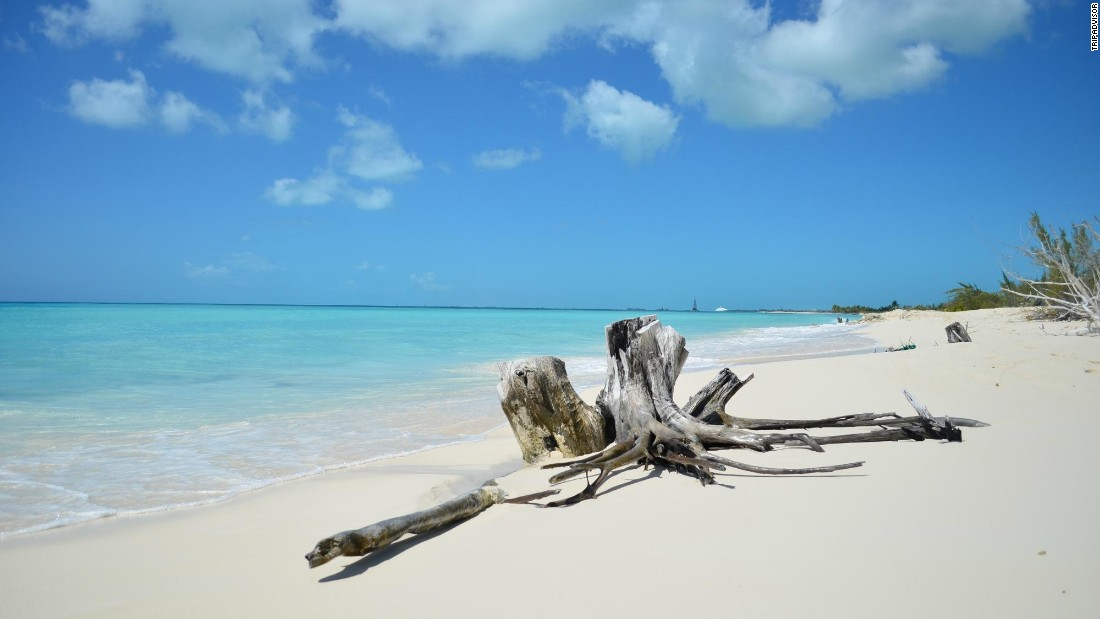 "Cuba's Playa Paraiso in Cayo Largo comes in third on this year's list. ""A dream come true,"" says one TripAdvisor user."