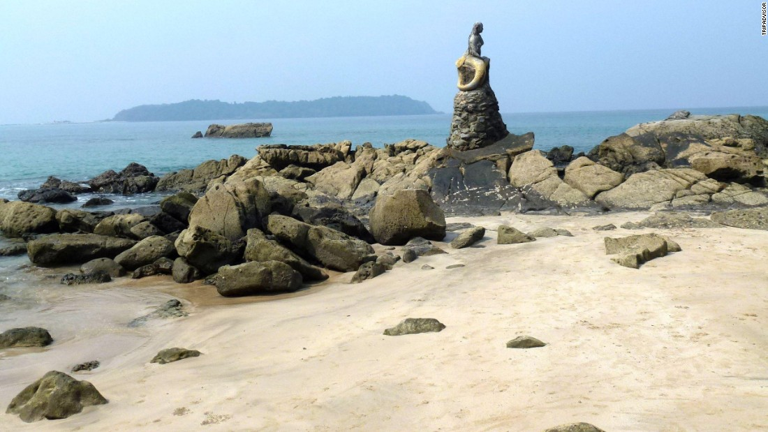 Ngapali Beach in Myanmar ranks eighth on the global list and first on TripAdvisor's best beaches of Asia list.