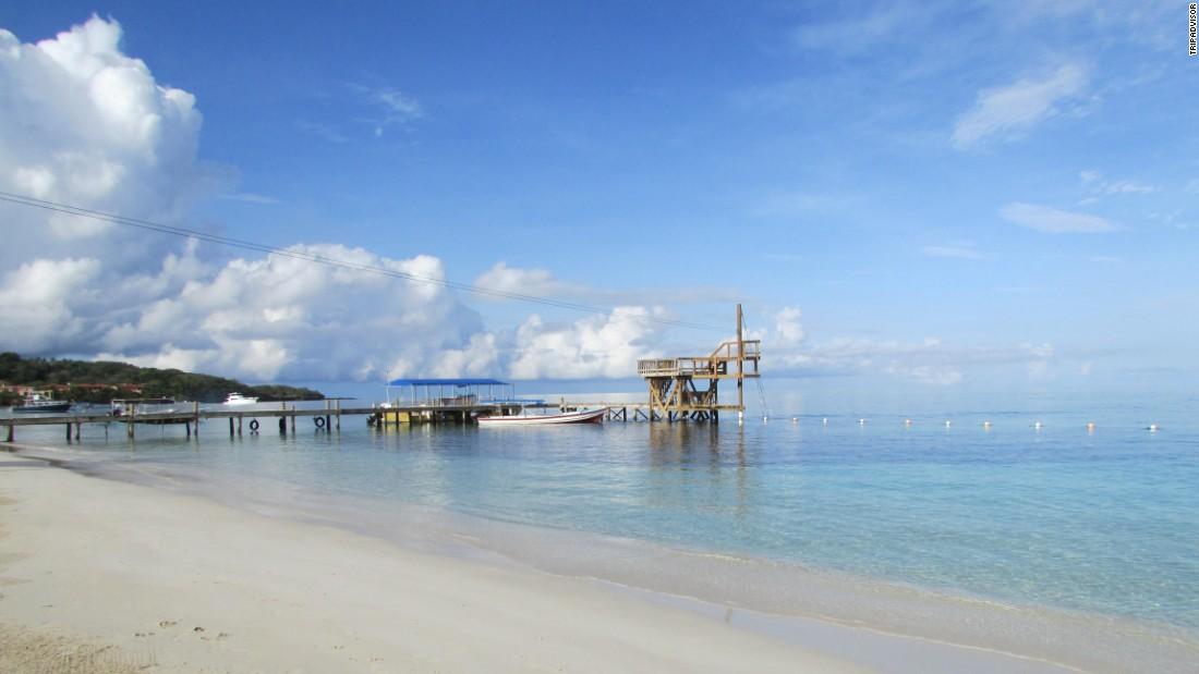 The waters off West Bay Beach in Honduras offer great snorkeling, TripAdvisor reviewers say.