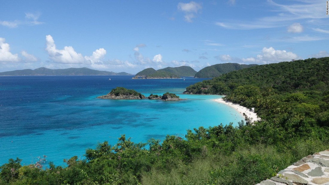 At Maho Beach on Cruz Bay in the U.S. Virgin Islands, turtles are a big draw with TripAdvisor reviewers.