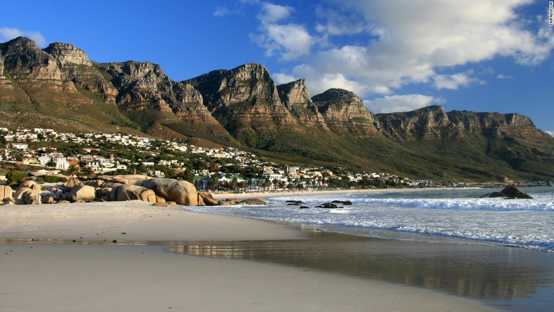 "Camp's Bay Beach in South Africa is ""always superb,"" one reviewer notes."