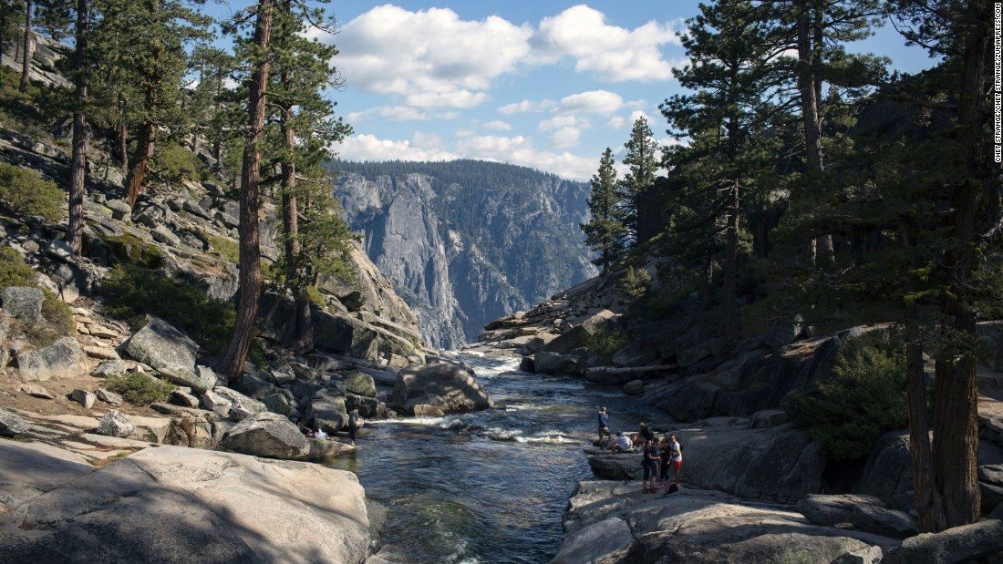 "Yosemite National Park contains the first parcels of nature set aside by the federal government to preserve for all time. <a href=""http://www.cnn.com/2014/06/30/travel/yosemite-turns-150/"">President Abraham Lincoln signed legislation during the Civil War, in 1864</a>, to protect part of what is now the park. Upper Yosemite Falls is shown here."