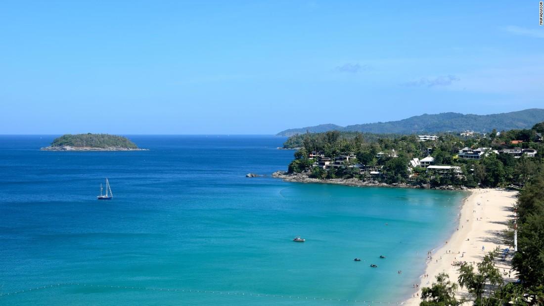 Karon, Thailand's Kata Noi Beach, is a crowd favorite in Phuket.
