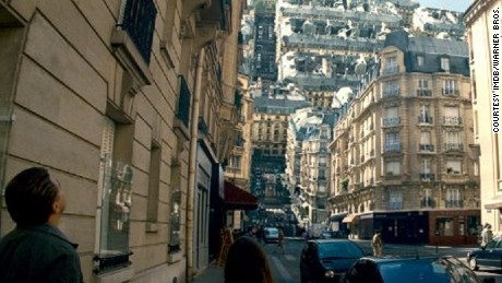 "Cities fold in on themselves, in ""Inception."""