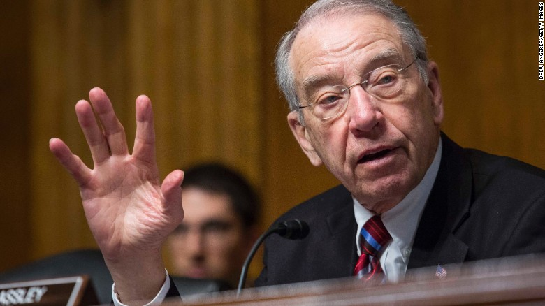 Grassley to Chief Justice: 'Physician, heal thyself'