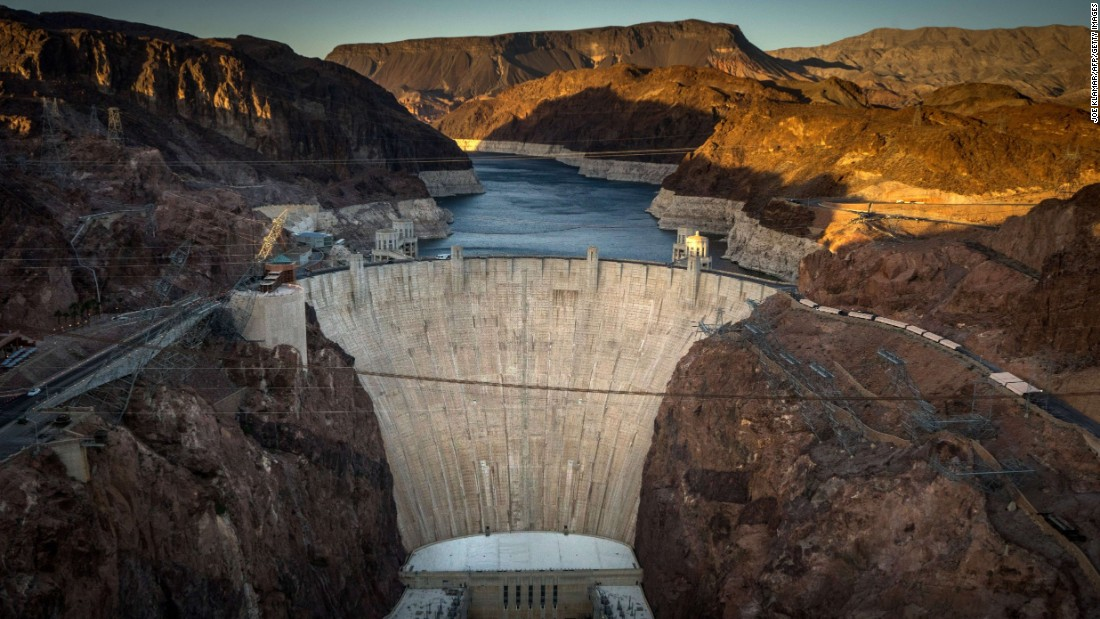 "<a href=""http://www.nps.gov/lake/index.htm"" target=""_blank"">Lake Mead National Recreation Area</a> hosted more than 7,298,000 visits last year. Hoover Dam, shown here, impounds Lake Mead."