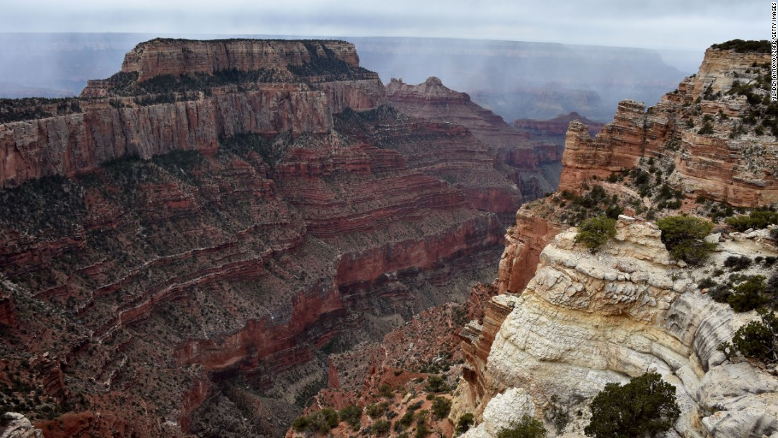 """Rounding out the top 10 is <a href=""""http://www.cnn.com/2013/07/25/travel/grand-canyon-summer-park/"""">Grand Canyon National Park</a>, which welcomed more than 5 million visits last year, a record for the Arizona park. This view is from the North Rim of the Grand Canyon."""