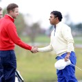 Chris Kirk and Anirban Lahiri golf