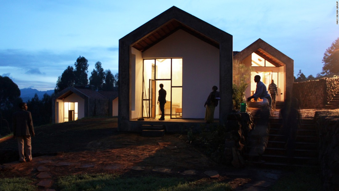 Christian Benimana is Rwanda Program Director for MASS Design Group, which has delivered projects such as doctor's housing in the town of Butaro.