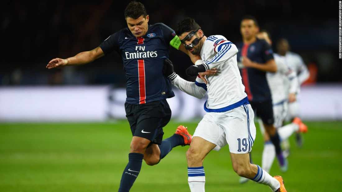 It was a reunion for Paris Saint-Germain and Chelsea as they met in the knockout stages of the Champions League for the third year in succession.