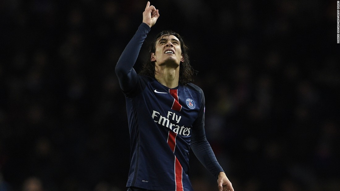 With the game in the balance, Edinson Cavani, a 74th minute substitute, stole in behind the Chelsea defense and fired home to give his side a 2-1 lead going into the second leg at Stamford Bridge in three weeks time.