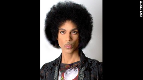 Prince's passport photo is pretty spectacular.