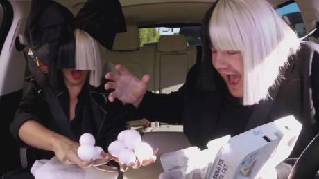 Sia carpool karaoke Daily Hit NewDay_00012415