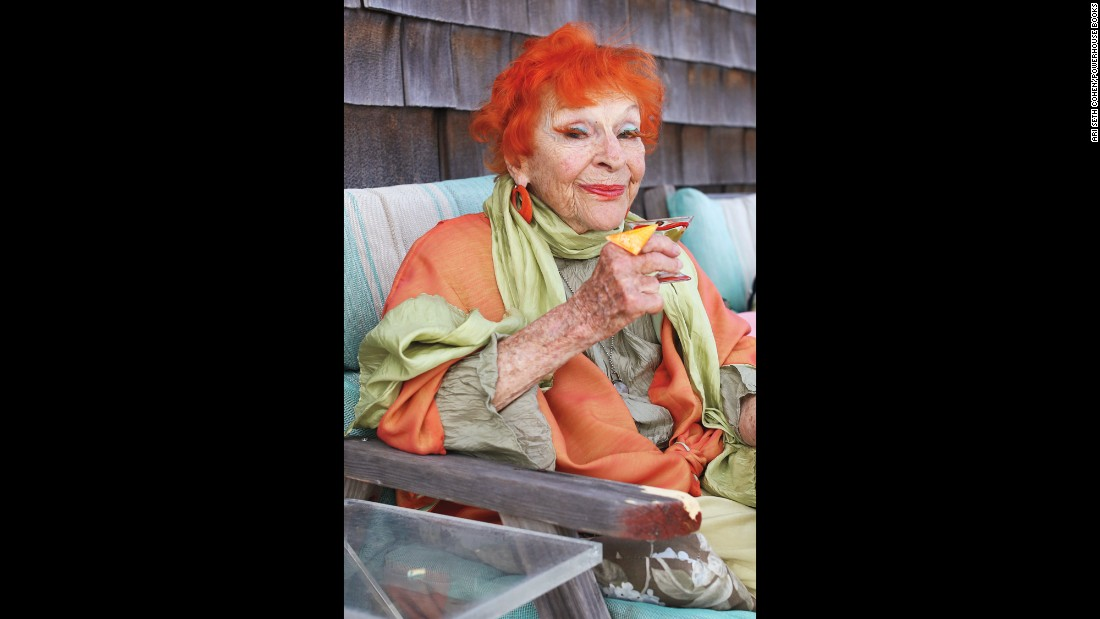 "<strong>Ilona Royce Smithkin, 95: </strong>""When you don't have to worry about yourself anymore, you are free for any experience. It's like opening the door and letting the fresh air come in."""
