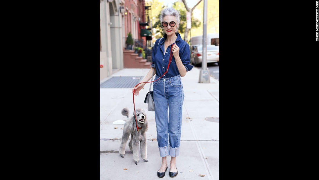 "<strong>Linda Rodin, 67:</strong> ""I have never felt the urge to dye my hair -- I started turning gray at 35 -- or have a face-lift. For me it has always been 'health is wealth,' and the rest is all fine with me. Chasing my youth has never been a goal of mine."""