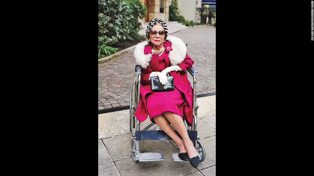 "<strong>Manuela Muguerza y Garcia-Moreno, 93:</strong> ""I believe that one must always find one's style and be true to it. Clothes are important, as they tell the world who you are and your philosophy of life. ... As for beauty advice: never go to bed with makeup on, and always buy the best products you can afford. Keep your skin hydrated and away from the sun. And finally, smile at life: It is wonderful to be alive!"""