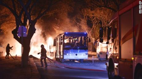 Explosion rocks Turkey's capital