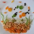 Diet food plate