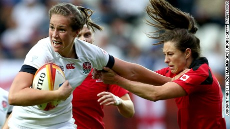 Emily Scarratt: Rugby star's Rio dream
