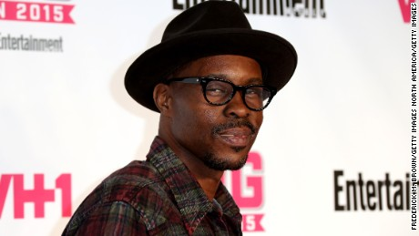 "Actor Wood Harris, who portrayed ""Avon Barksdale"" in ""The Wire""."