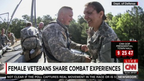 Women in the military and combat Roles