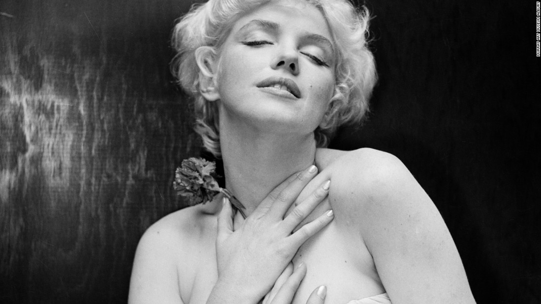 "After taking Monroe's portrait -- here, six years before her death -- Beaton wrote in his diary: ""It will probably end in tears."""