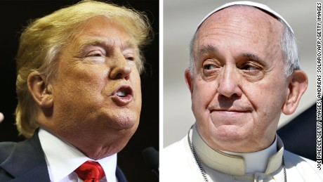 Really, Donald Trump? A fight with the Pope?