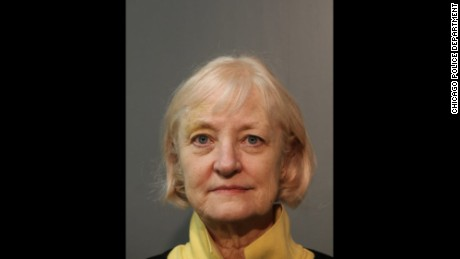 "Police arrested Marilyn Hartman at O'Hare Airport Wednesday, calling her a ""habitual trespasser and stowaway."""