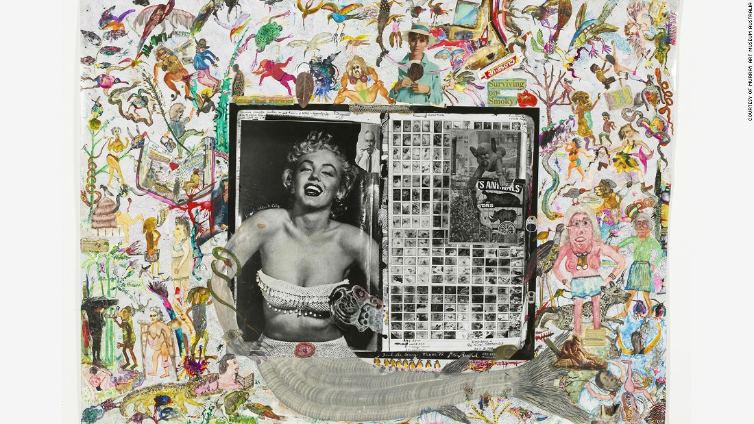 "Far from dimming her appeal, tributes to the star have continued in earnest after Monroe's death. ""Dead Elephant Book Diary, Marilyn Monroe"" was created by Peter Beard in 1971, nine years after her death due to an overdose of barbiturates."