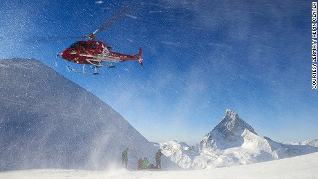 Zermatt is one of Europe's leading winter sports resorts.