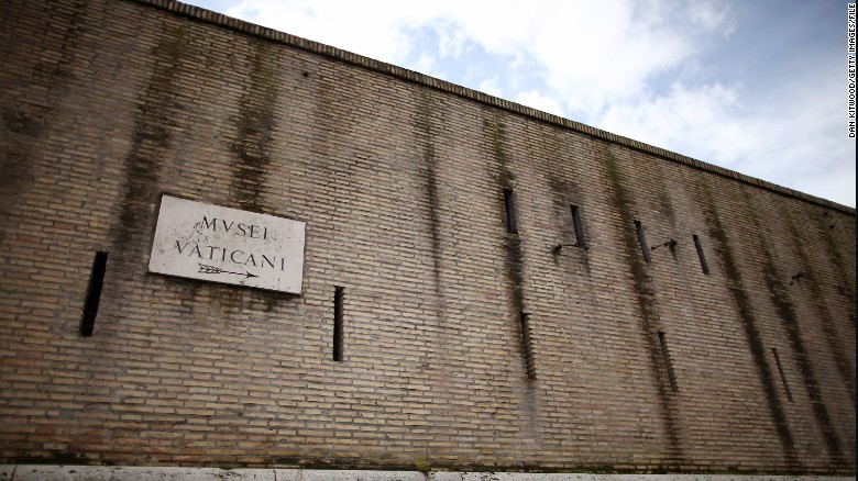 Wall Photo about those vatican walls  - cnn