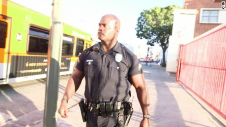 Officer finds calling on one of LAPD's hardest beats