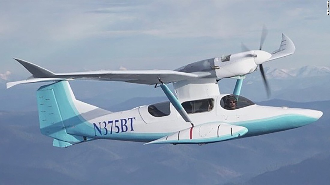 Inventor and aviation legend Burt Rutan has developed the SkiGull, an amphibious seaplane with retractable skis.